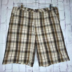 Hurley Plaid Shorts